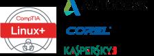 Kaspersky, Linux, Autodesk и Corel Corporation