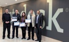 Центр «Специалист» и компания Autodesk поздравляют победителей конкурса «Придай форму будущему»!